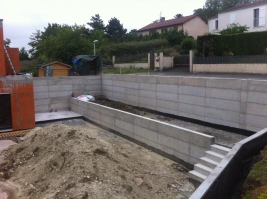 Extension maison individuelle piscine fr d ric dabert - Piscine interieure montreal clermont ferrand ...